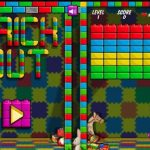 Play free Arkanoid inspired game - the Brickout!